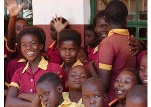 Besøg på lokal afrikansk landsbyskole