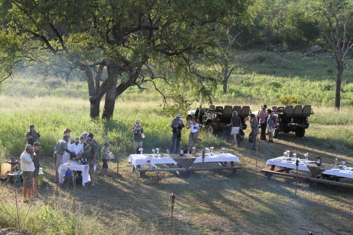 Middag i bushen